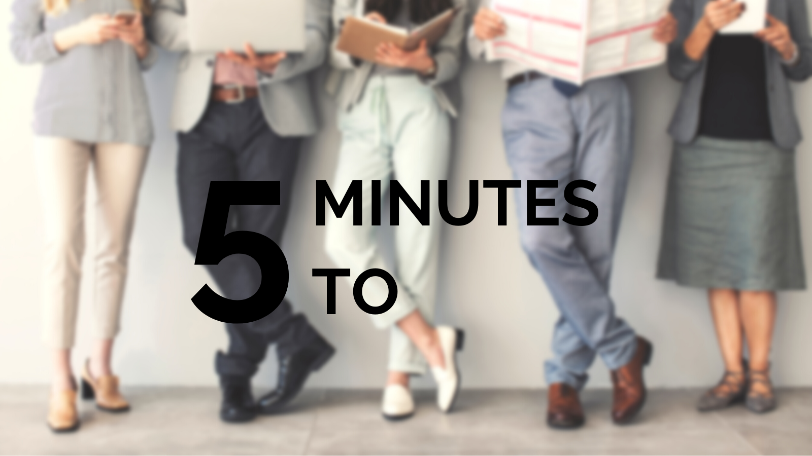 5 Minutes To : Creating Buyer Personas