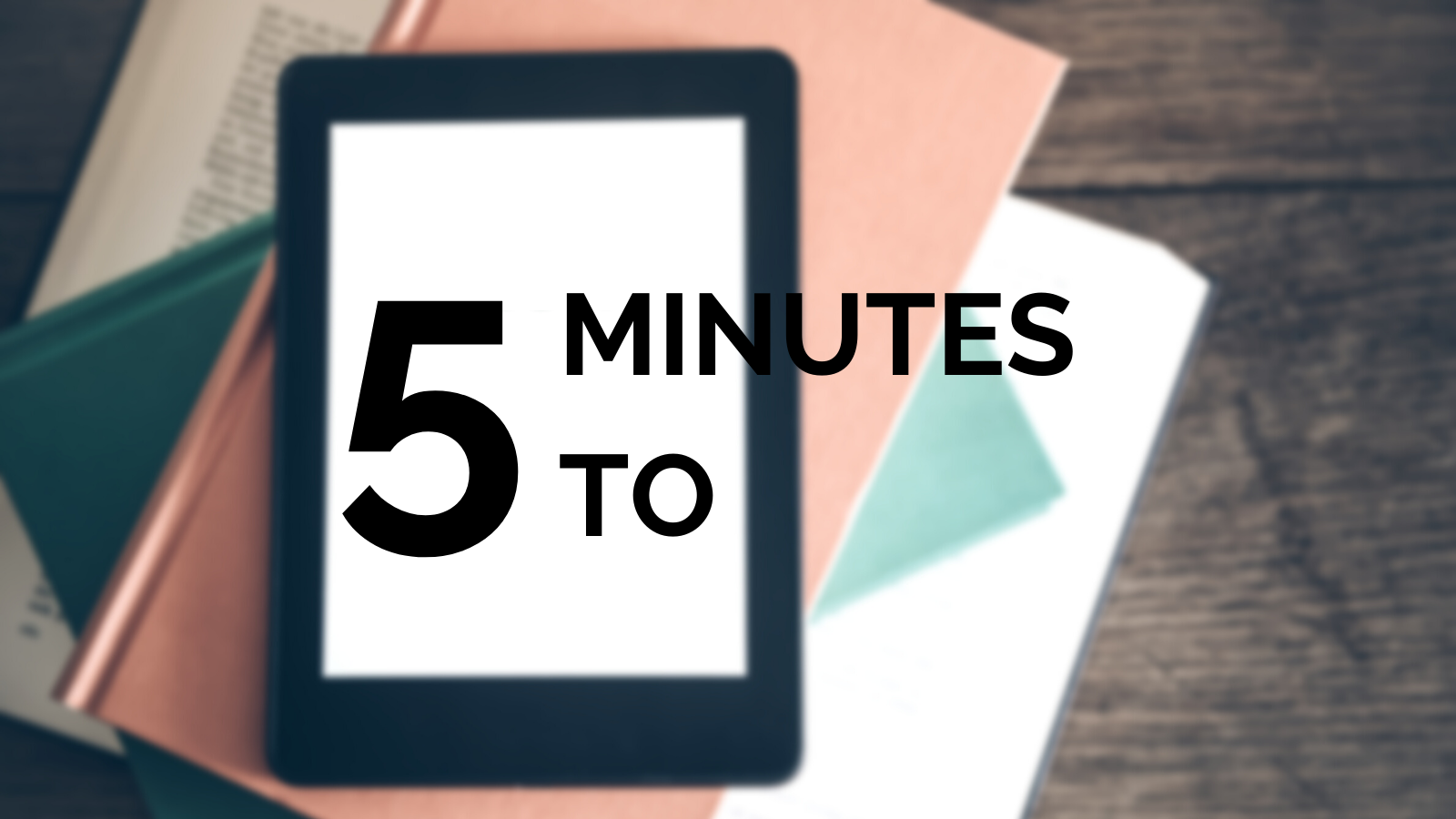 5 Minutes To: Writing the Perfect eBook